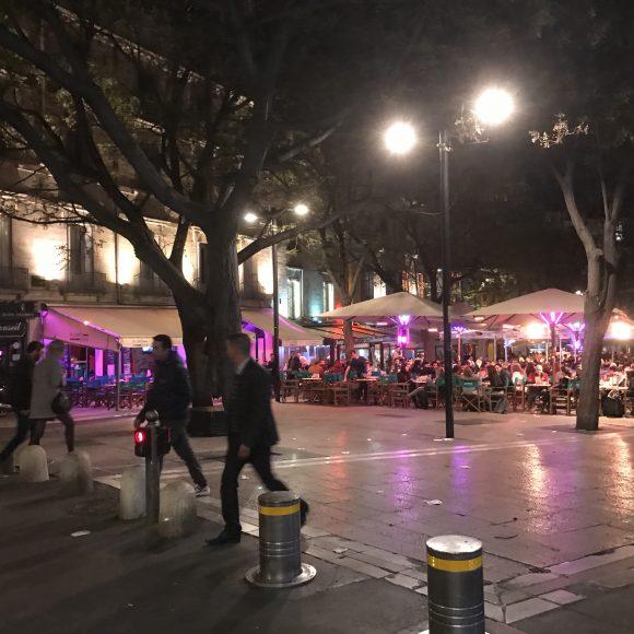 Montpellier by night - AEF - Hébergement chez l'habitant à Montpellier